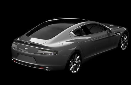 Aston Martin Rapide Back View