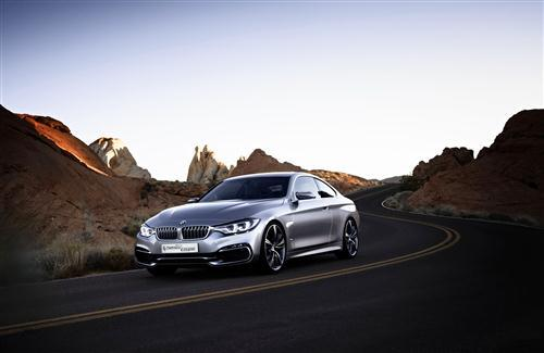 BMW 4 Series Coupe Car HD Wallpaper