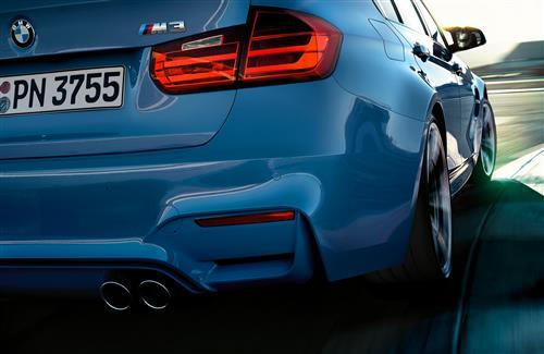 BMW M3 Back Side Rear View Super Car Wallpapers