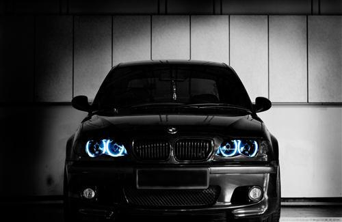 Black BMW E46 M3 HD Car Wallpapers