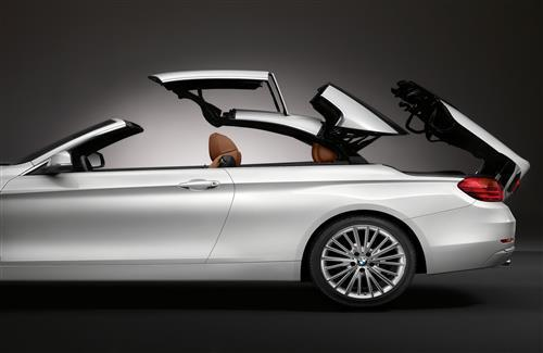 White New Super BMW 4 Series Convertible Car Wallpapers