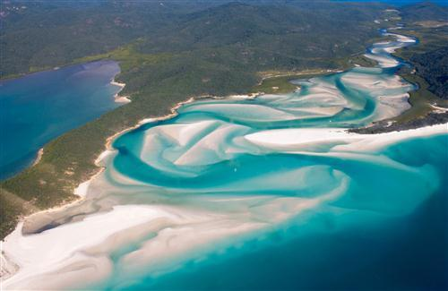 Amazing Whitehaven Beach Tourist Place in Australia HD Wallpapers