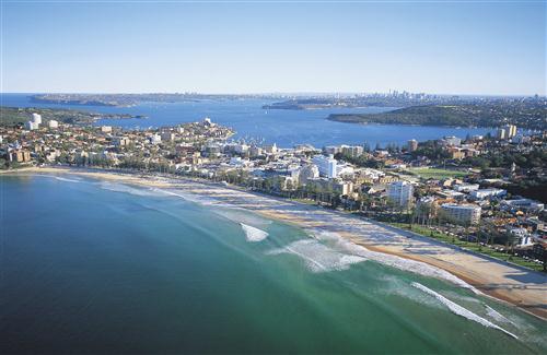 Beautiful HD Wallpaper Of Manly Beach In Sydney Australia