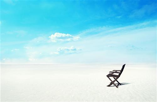 Chair in Beach