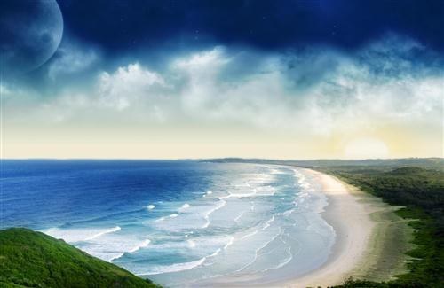 Nice Bondi Beach in South Wales Australia Wallpapers