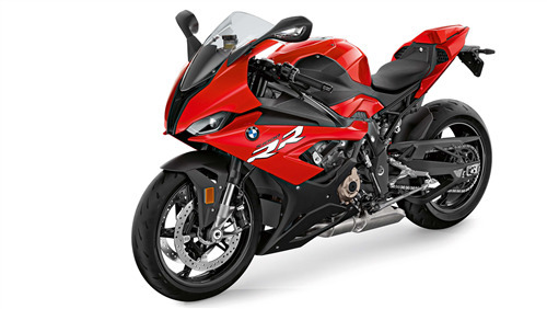 4K Image of 2019 BMW S1000RR Red Motorcycle