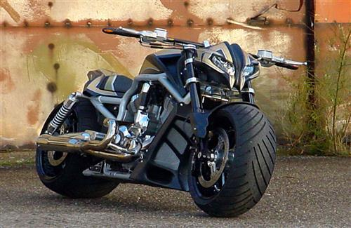 Big Tyre Sport Bike