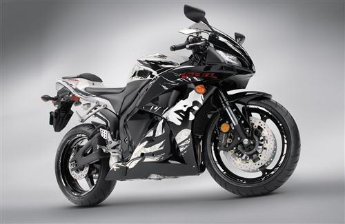 Honda CBR Sport Bike Photo Background