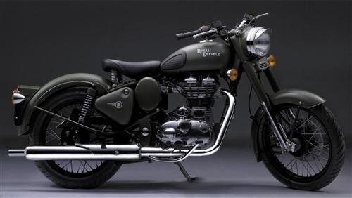 Royal Enfield Black Bullet