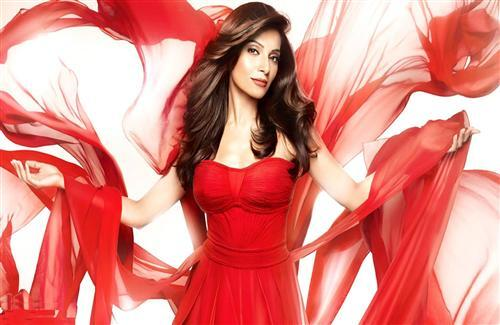 Actress Bipasha Basu in Red