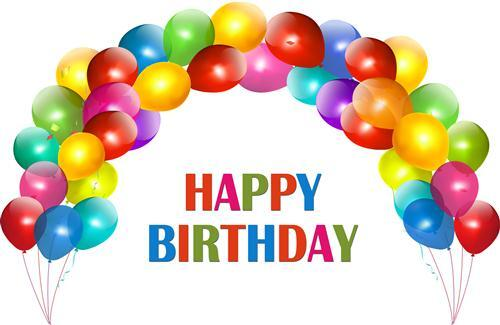Happy Birthday In Ballon HD Photo HD Wallpapers