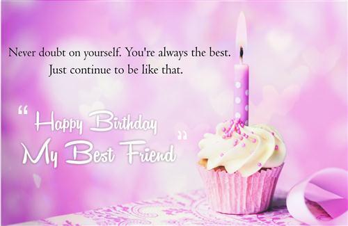 Wish You Happy Birthday My Best Friend