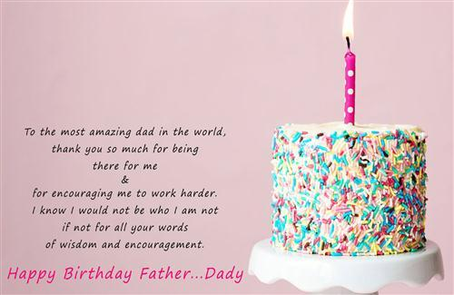 Wish You Happy Birthday My Lovely Father