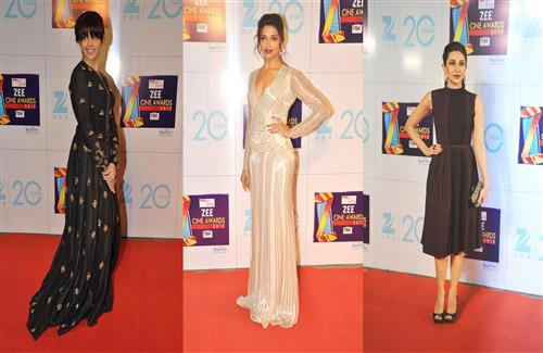 Bollywood Actress in Zee Cine Awards Wallpapers