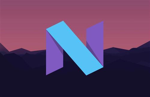 Android Nougat Logo HD Wallpaper