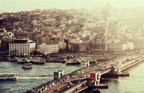 Galata Bridge in Turkey Country Wallpapers
