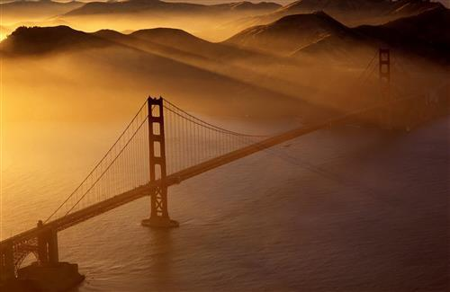 Golden Gate Bridge in San Francisco HD Wallpaper