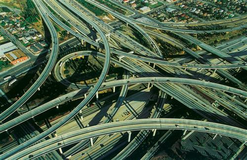 UnitedStates Los Angeles Flyovers Image