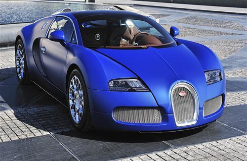 Blue Bugatti Car Hd Image Hd Wallpapers