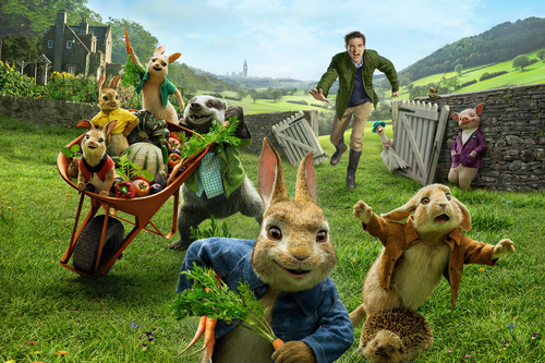 Peter Rabbit Film Fictional Character 5K Wallpaper