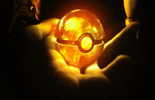 Pokeball Orange