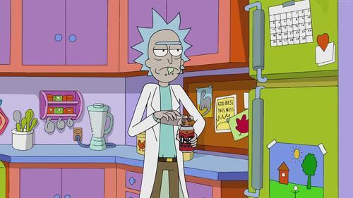 Rick Sanchez in Cartoon TV Show 5K Wallpaper