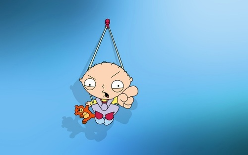 Stewie Griffin in Family Guy HD Wallpaper