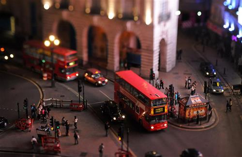 Amazing City of London of Tilt Shift Images