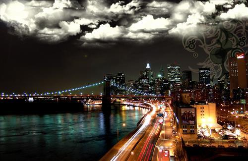 Beautiful Night View of City HD Wallpapers