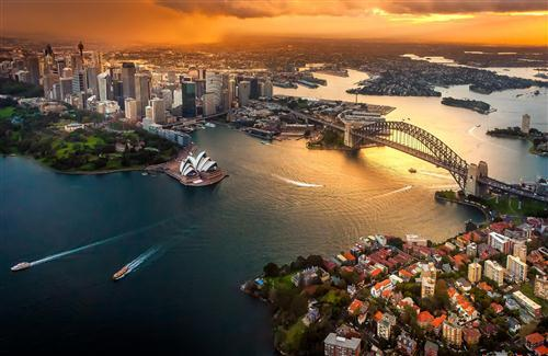 Beautiful Sydney City of Australia Wallpaper