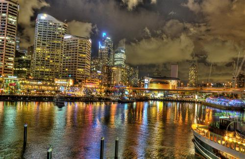 Darling Harbour in Sydney Australia Wallpapers