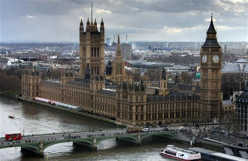 Palace of Westminster in London England Photo