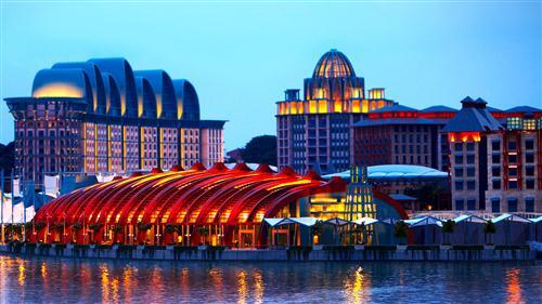 Resorts World Sentosa in Singapore