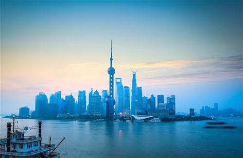Shanghai China City HD Photo Background