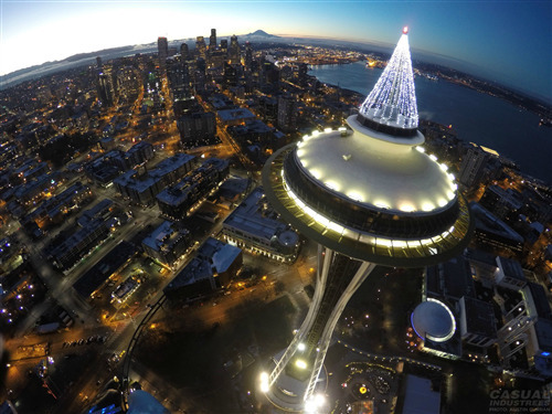 Space Needle in Washington State Wallpaper