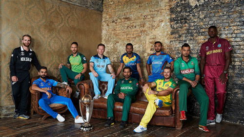 Cricket World Cup 2019 All Captains 4K Wallpaper