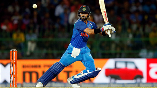 Virat Kohli Batting In Cricket World Cup 2019 5K Wallpaper