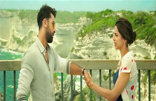 Deepika Padukone and Ranbir Kapoor in Tamasha Movie HD Wallpaper