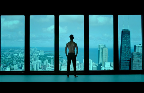 Aamir Khan Standing in Dhoom 3 2013 Movie