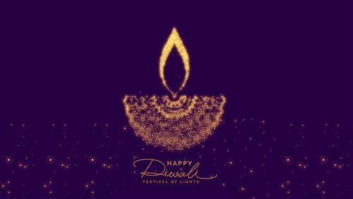 Happy Diwali Festival Of Lights 4K 2018 Background