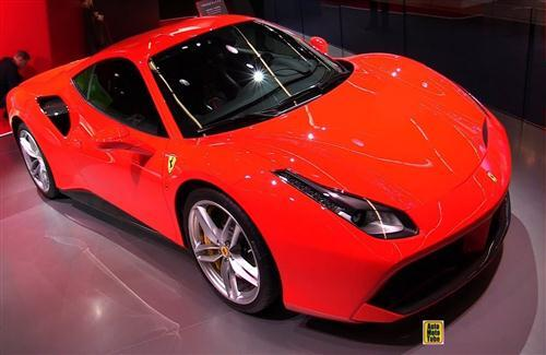 2018 Ferrari 488 GTB Red Awesome Car