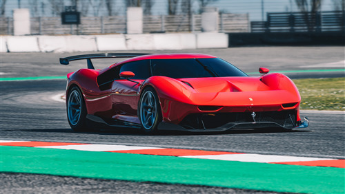 5K Photo of 2019 Ferrari P80C Car
