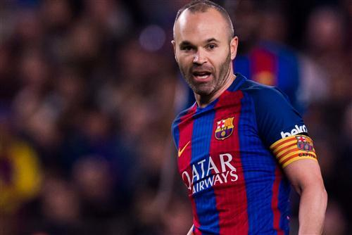 Andres Iniesta Footballer 4K Wallpapers