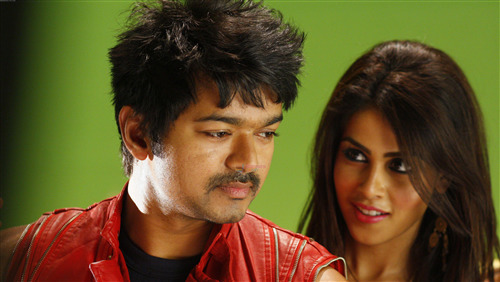 4K Pic of Genelia DSouza with Vijay