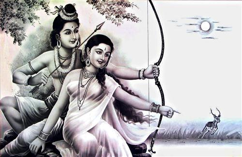 God Rama and Sita Photo