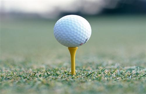 Golf Ball on Stand Pics