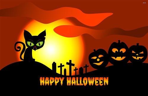 Happy Halloween Background Image