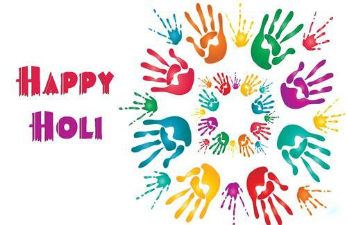 Happy Holi Desktop Background