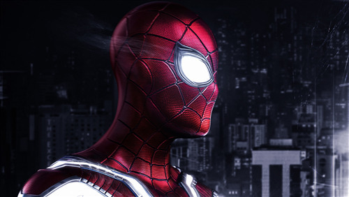 4K Pic Download of Iron Spider Man