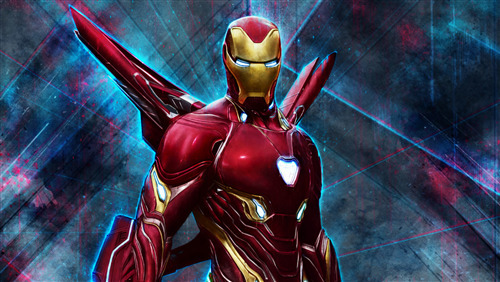 4K Pic of Superhero Iron Man